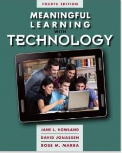 """Image of book cover - :Meaningful Learning with Technology"""""""